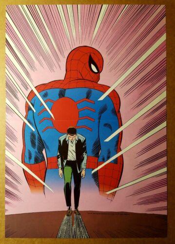 Amazing Spider-Man No More 50 Marvel Comics Poster by John Romita Sr
