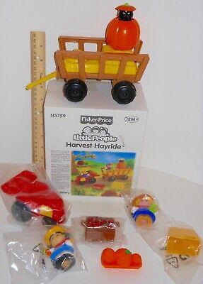 $10 OFF NEW Fisher Price Little People Halloween Harvest Hayride Pop Up Cat ~Box