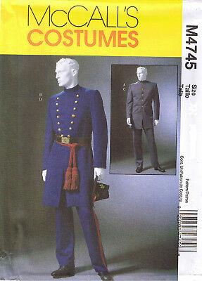Herren Bürgerkrieg Militär Offizier Union Konföderierte Mantel Hose - Herren Bürgerkrieg Kostüme