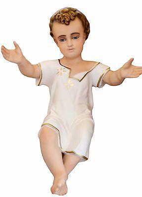 Bambino Ges in Resina<br />ALTEZZA CM. 50 con Occhi di Cristallo<br /> nuovo