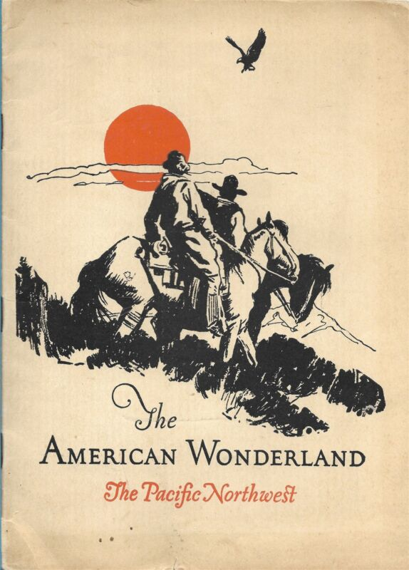 American Wonderland Chicago Burlington & Quincy RR, Northern Pacific Ry Booklet