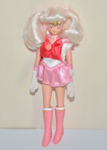 "Rini Chibiusa Chibimoon Minimoon 11.5"" adventure doll Sailor Moon action figure"