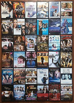 Mixed lot of 36 DVD movies comedy drama suspense etc Wholesale sku084