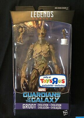 +MARVEL LEGENDS - Groot - Toys R Us Exclusive - TRU - NEW SEALED MINT VHTF 🔥