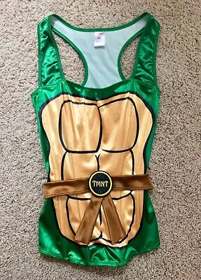 TMNT Teenage Mutant Ninja Turtle Corset Top: Sexy Cosplay/Costume Lingerie NEW