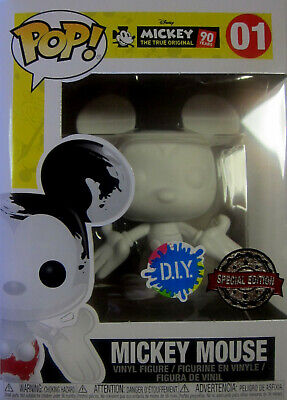 Mouse (DIY) - Funko Pop! (Limited Edition) Micky Maus (Mickey-mouse-diy)