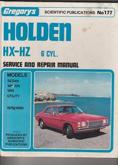 Hz holden in kalamunda area wa other parts accessories holden hx hz service and repair manual sciox Gallery