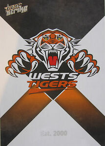 2011 NRL Select Strike Team Set  WESTS TIGERS