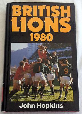 HARDBACK BOOK - BRITISH LIONS 1980