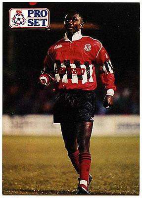 Oriental Trading Soccer (Kenny Achampong Leyton Orient #421 Pro Set Football 1991-2 Trade Card)