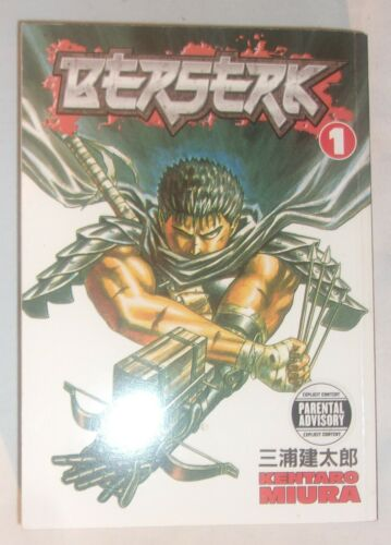 BERSERK VOLUME 1 JAPANESE MANGA SMALL PAPERBACK BOOK IN VERY GOOD CONDITION