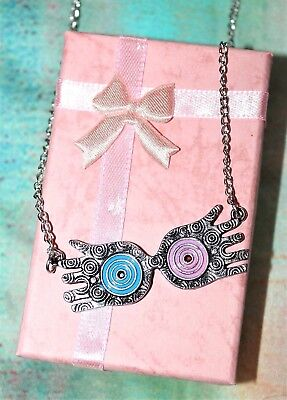 NEW Luna Lovegood's Spectrespecs Necklace & Pink Gift Box from Harry Potter - Luna Lovegood Spectrespecs
