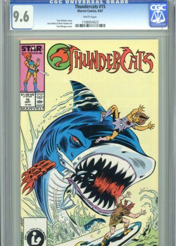 Thundercats 15 CGC 9.6 White Pages