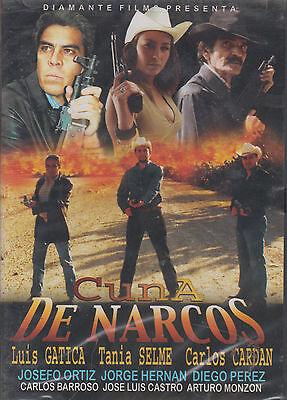 DVD - Cuna De Narcos NEW Luis Gatica Tania Selme FAST SHIPPING !