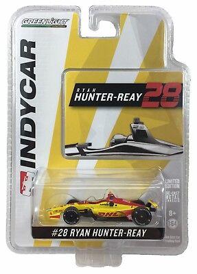 1:64 2018 Greenlight Ryan Hunter-Reay #28 Andretti Autosport IndyCar Diecast
