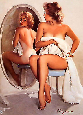 Wall Calendar 2019 [12 pages A4] Pin Up Sexy Girl Elvgren Vintage Pinup M1-537