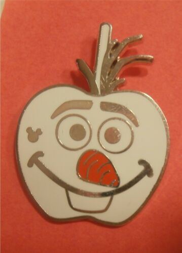 Olaf Character Candy Apples Disney Lapel Pin