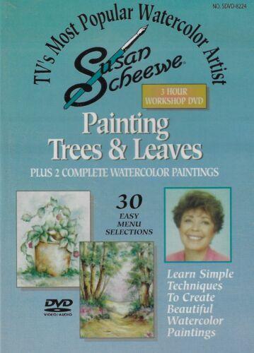 Painting Trees & Leaves - 3 hr. Watercolor Workshop - Susan Scheewe