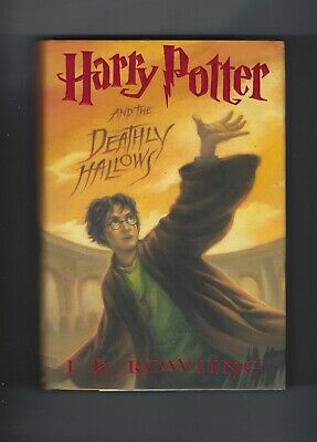 HARRY POTTER AND THE DEATHLY HOLLOWS BOOK 7 J K ROWLING NICE SHAPE!