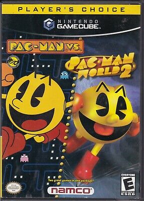 Pac-Man vs. / Pac-Man World 2 (Nintendo GameCube, 2003, 2-Disc)