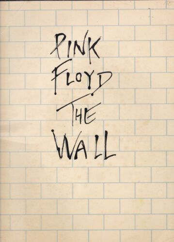Pink Floyd: The Wall [Piano-Vocal-Guitar] (Music Sales Songbook, 1989) GOOD