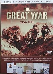 The Great War - 3 DVD and Memorabilia Collection Rippleside Geelong City Preview