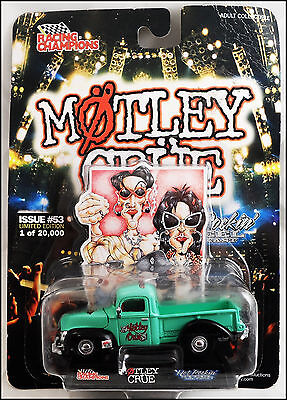 """Motley Crue """"Dr. Feelgood"""" 40 Ford Die Cast Pick-Up Truck Racing Champions"""