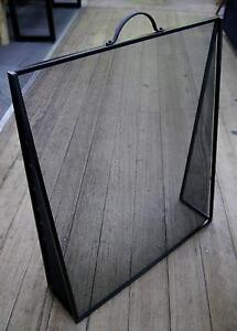 New Black Metal Free Standing Fire Guard Fireplace Screen Panel Melbourne CBD Melbourne City Preview