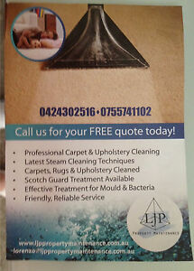 Ljp carpet cleaning Coombabah Gold Coast North Preview