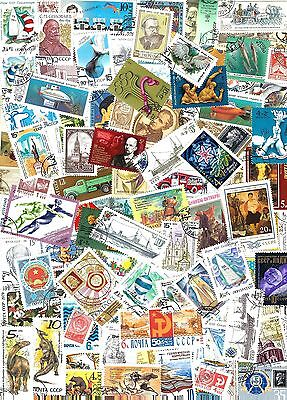 Soviet Union   Collection Of 100 Different Used Cto Stamps       D 7D23 81