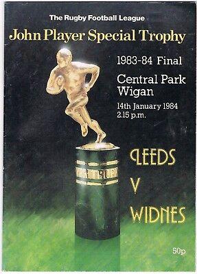 Leeds v Widnes 1983/4 (14 Jan) JP Trophy Final @ Wigan