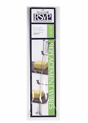 RSVP Set of 4 Replacement Cheese Slicer Wires for #GRY-5, W-3 Cheese Slicer Replacement Wires
