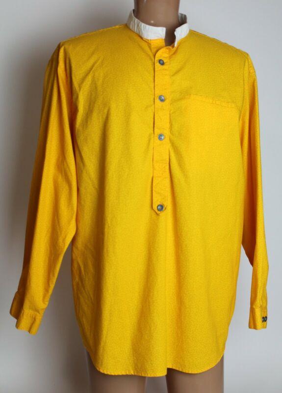Men's 2XL Frontier Classics Old West Shirt Yellow