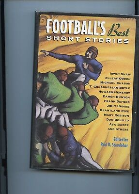Football's Best Short Stories (1998, Hardcover)  Signed by TC