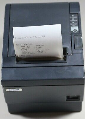 Epson Tm-t88iii M129c Rs-232 Thermal Pos Receipt Printer Only