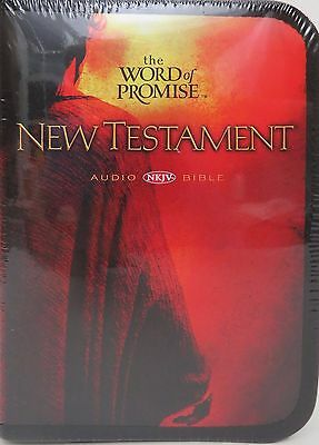 The Word of Promise New Testament NKJV Audio Bible 20 CD +DVD by Thomas Nelson
