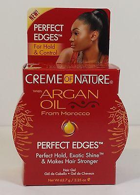 CREAM OF NATURE ARGAN OIL PERFECT EDGE CONTROL HAIR GEL