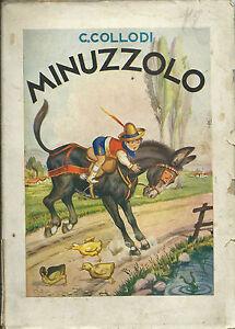 Collodi-Minuzzolo-Lucchi-Milano-1942-Galbiati-Illustratore-Gian-Dauli