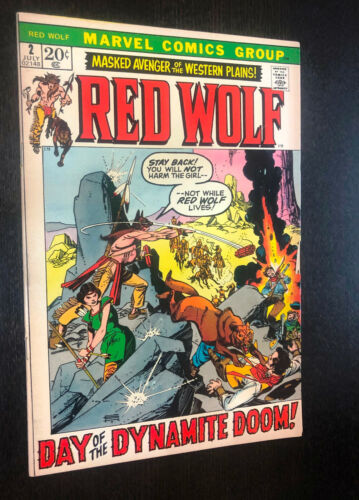 RED WOLF #2 (Marvel 1972) -- F+