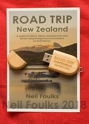 Road Trip New Zealand  by Neil Foulks (Travel guide eBook on memory stick)