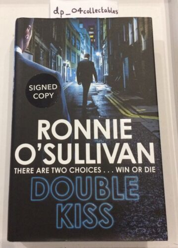 Signed Ronnie O'Sullivan Double Kiss First 1st Edition Hardback Book - Snooker
