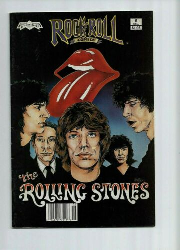 7 ROCK AND ROLL REVOLUTIONARY COMICS LED ZEPPELIN THE ROLLING STONES THE WHO LOT