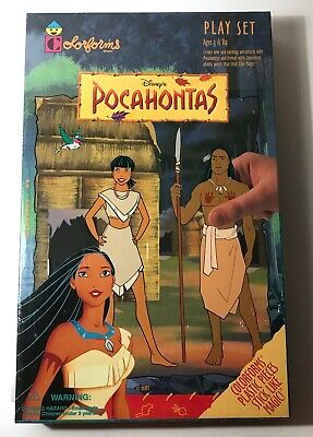 Disneys Colorforms Pocahontas Play Set Ages 3 and Up