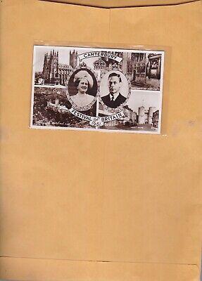 VINTAGE  POSTCARD CANTERBURY FESTIVAL OF  BRITAIN. 1951
