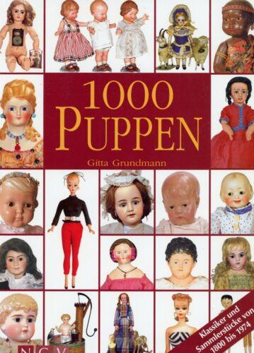 1,000 Antique Vintage Dolls - Makers Identification / Scarce book (GERMAN TEXT)