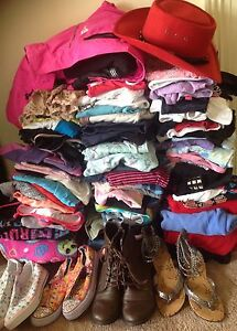 GIRLS CLOTHES SIZES 8, 10 & 12 Exton Meander Valley Preview