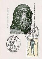 Cartolina - Postcard - Maximum - Bronzi Di Riace - Reggio Calabria - 1981 -  - ebay.it