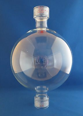 Ace Glass Preparative Funnel 2000ml 25 Threds Chromatography Reservoir Bulb