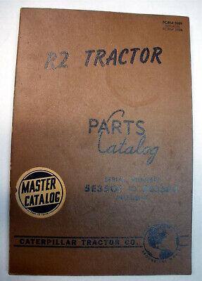R2 Tractor Caterpillar Parts Catalog Ser. 5e3501 To 5j3583 Inclusive