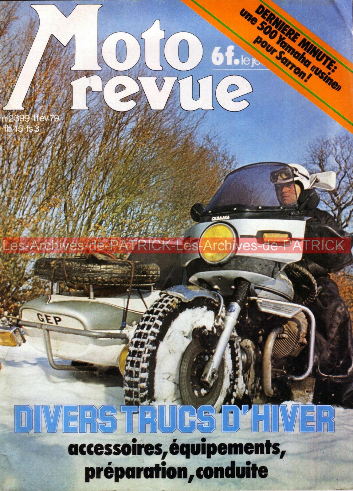 Moto revue 2398 spécial « chopper » ; suzuki rm 125 n ; pocket bike 1979